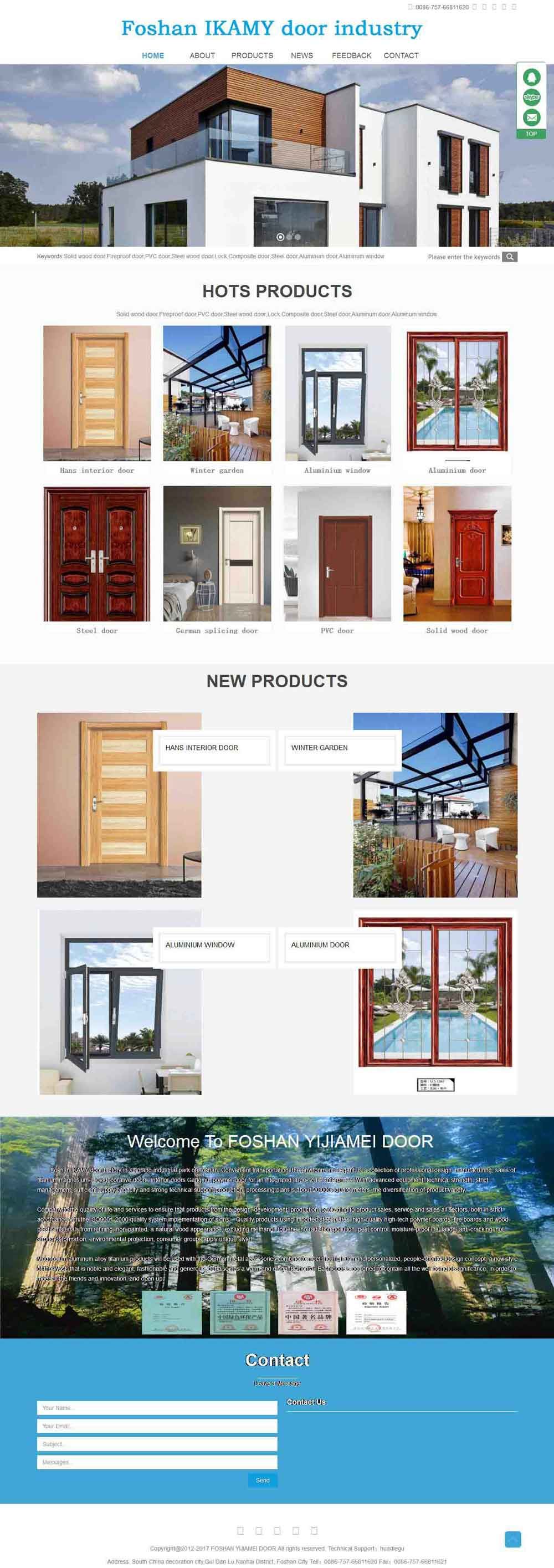 Foshan IKAMY door industry