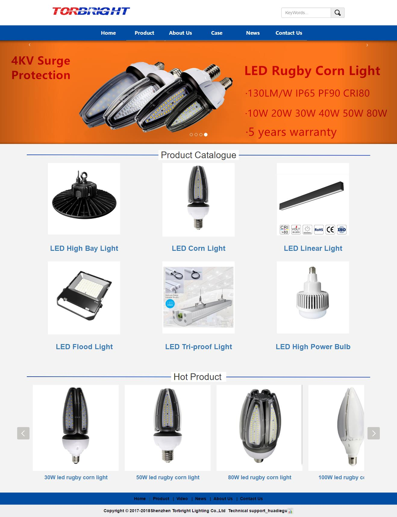 Shenzhen Torbright Lighting Co.,Ltd